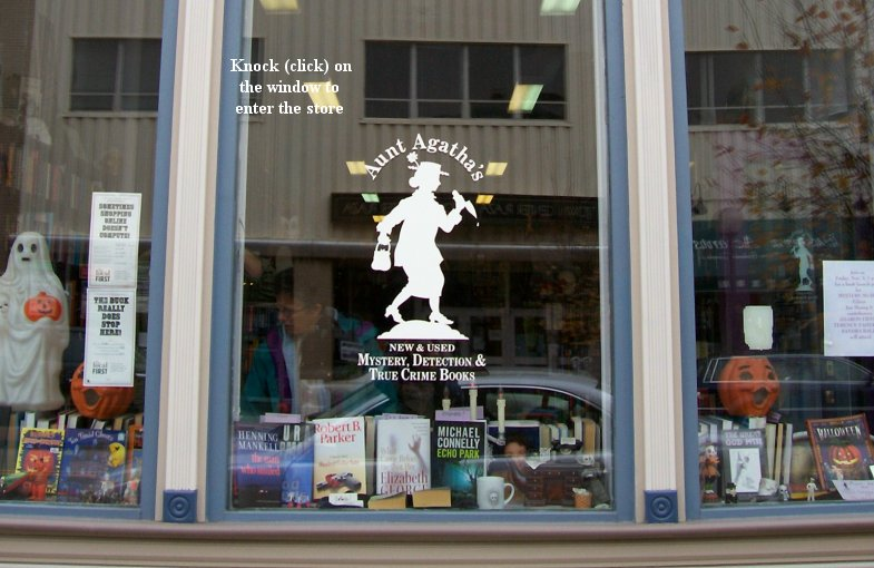 Aunt Agatha's storefront picture